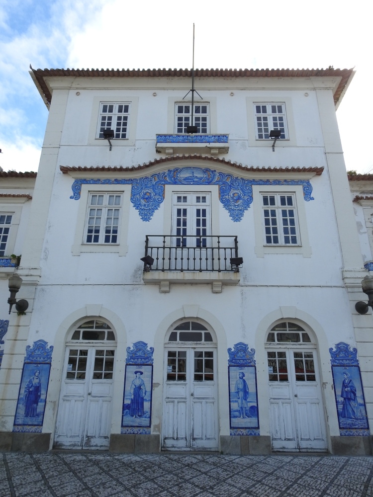 Aveiro's original railway station