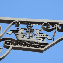 Ship in close up