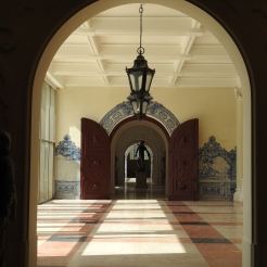 Looking back towards the entrance hall