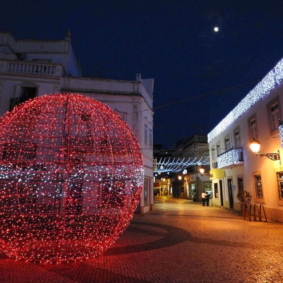 Christmas Square Sky