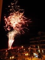 Great show from our balcony