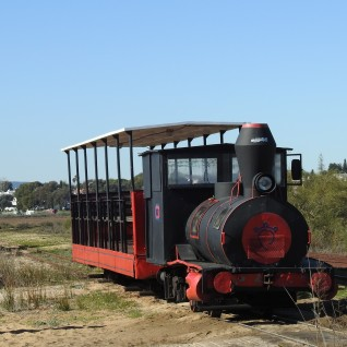 Once an industrial railway now converted for passengers