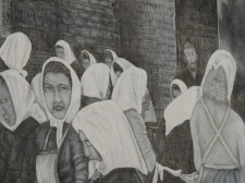 The factories were the main occupation for women