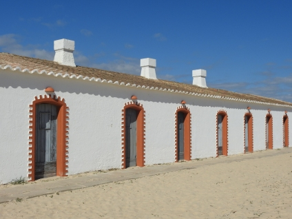 Fishermen homes at Praia do Barril