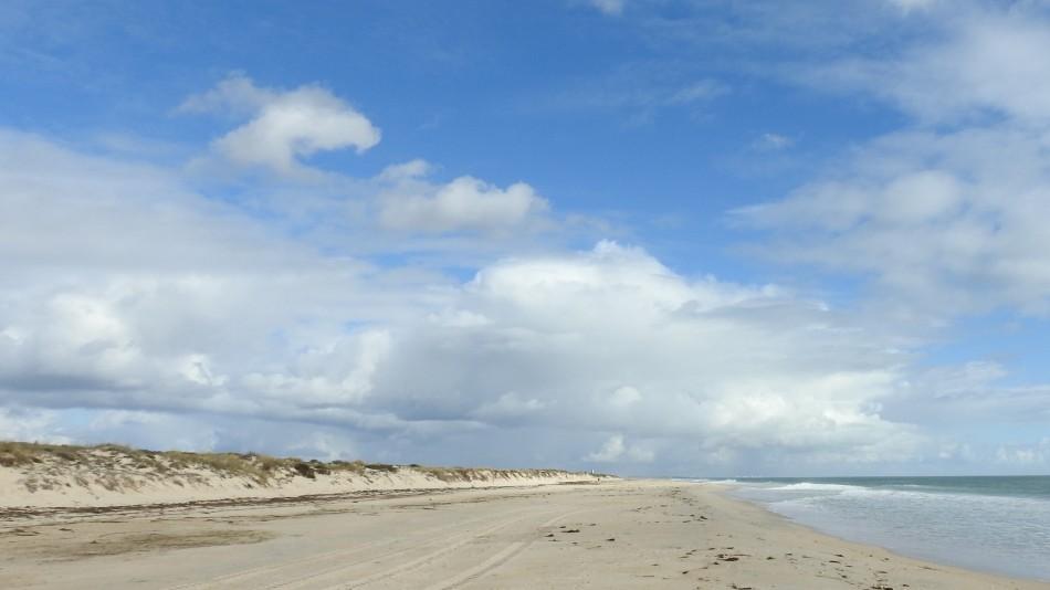 Rest of beach