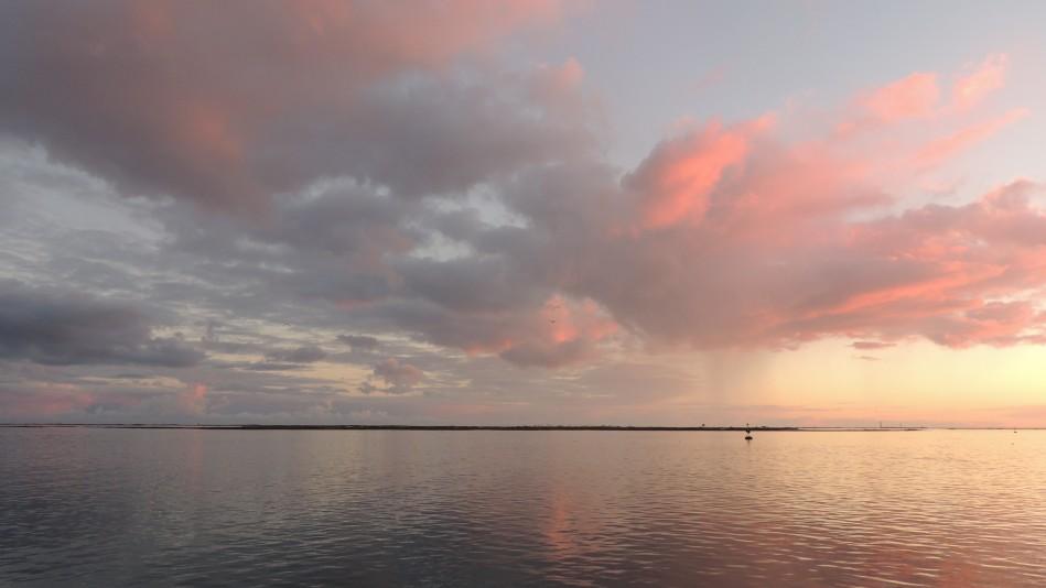 Pink Clouds over Culatra