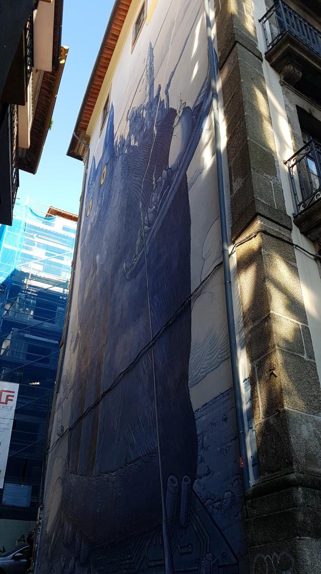 Blue Cat of Porto