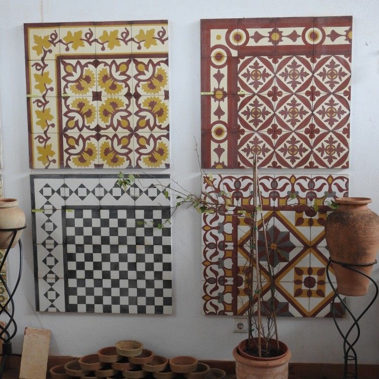 Hydraulic Cement Tiles