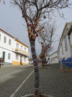 Yarn in a tree