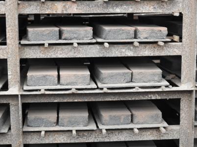 Drying bricks
