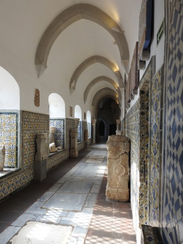 Inside the cloister