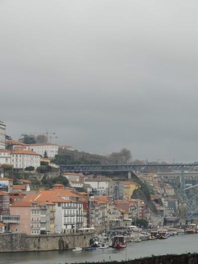 View of Porto from Vila Nova de Gaia