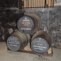 Oak Cask - look how old the port is!